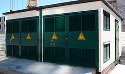 Металлические двери для трансформаторной