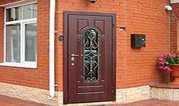 Стальные уличные двери