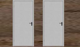 Входные двери с покрытием нитроэмаль