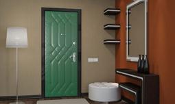 Двери с отделкой винилискожей